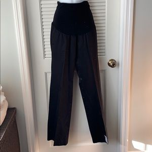 Maternity black pants from Pea in the pod